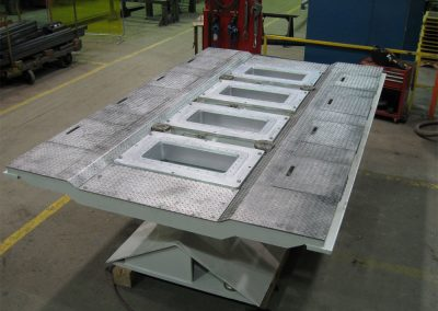 Dynamic Concept – Casting Table with Molds